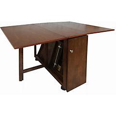 Mesa plegable rubberwood 4 sillas