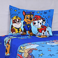 Sábana multicolor Paw Patroll 1,5 plazas