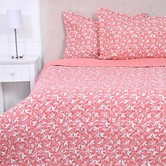 Quilt Pure Estampado 2 plazas Gardenia