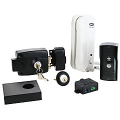 Cerradura eléctrica transformador+citófono