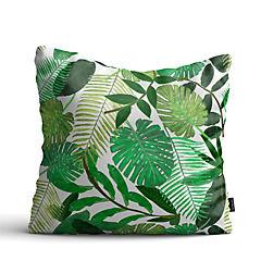 Cojín de piso green tropical 100x100 cm