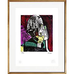Cuadro 67x87 cm Rito artista Bororo