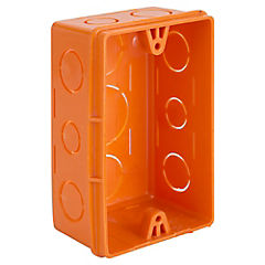 Caja de distribución embutida 16x20x25 mm PVC