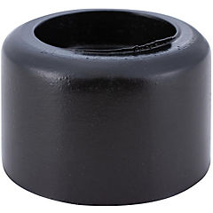 Tope para puerta 30 mm negro