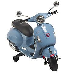 Moto electrica vespa azul