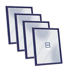 Pack 4 marcos plásticos 15x21 cm