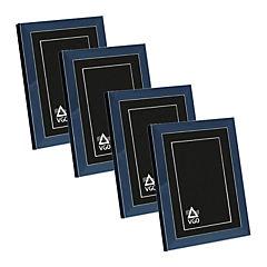 Pack 4 marcos con detalles 10x15 cm