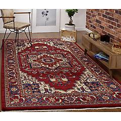Alfombra oriental tebriz 200x290 cm Rojo