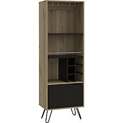 Bar 39,6x51x169 cm MDF wengue