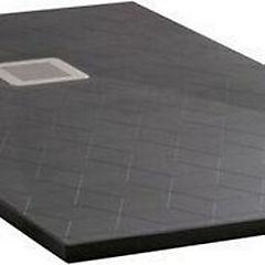 Receptáculo de ducha cuarzo 150x70 negro