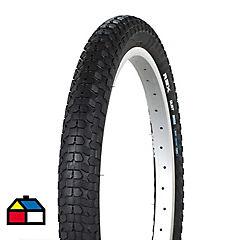 Neumático de bicicleta 20 x 2.00 bmx skin wire