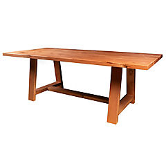 Mesa de comedor rectangular 220x100 cm
