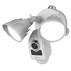 Cámara de seguridad inteligente con luz fhd