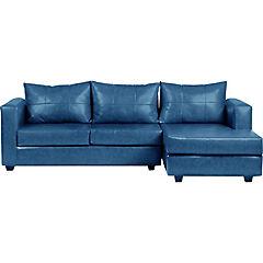 Seccional 265x130x95 cm azul