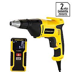 Kit atornillador eléctrico 520 W + medidor de distancia 20 mts