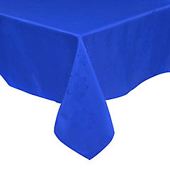 Mantel Agatha 150x210 cm azul rectangular poliéster