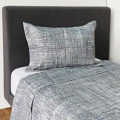 Quilt gris 1,5 plazas