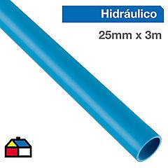 Tubería hidráulica para cementar 25 mm 3 m