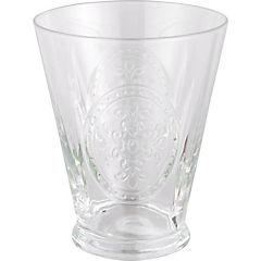 Vaso de vidrio 340 ml transparente