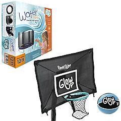 Set basketball+waterpark para cama elástica 12ft