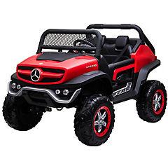 Buggy Mercedes Benz rojo