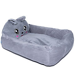 Cama para mascota gris 60x50 cm