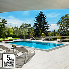Servicio de Construcción de piscina de hormigón de 6 x 3 metros