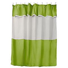 Jgo cortina para baño 6 piezas pistacho