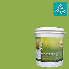Esmalte al agua reciclado satin verde conguillido 1 gl
