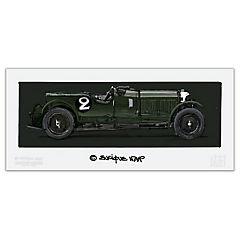 Grabado Bentley Enrique Napp 48x19 cm