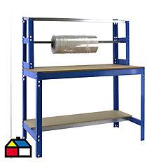 Mesa de trabajo 144,5x91x76 cm metal