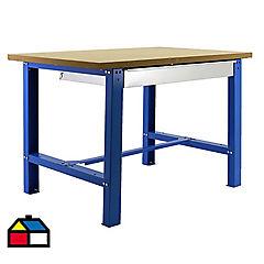 Mesa de trabajo 86,5x180x75 cm metal