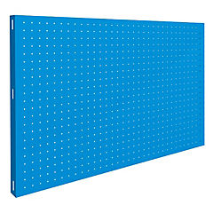 Panel metal 120x40x3,5x cm azul