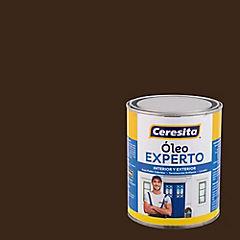 Oleo experto café moro  1/4 galón