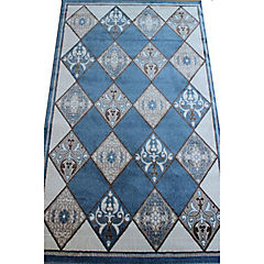 Alfombra bosphorus 330x240 cm Azul