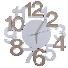 Reloj mural decorativo números 35 cm