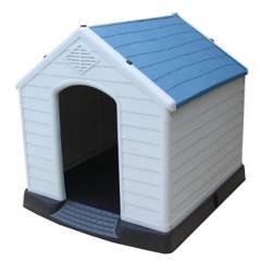 PETIZOOS - Casa para perros 96x105x98 cm azul