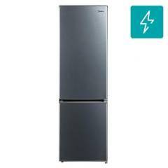 MIDEA - Refrigerador 267 litros frío directo bottom freezer