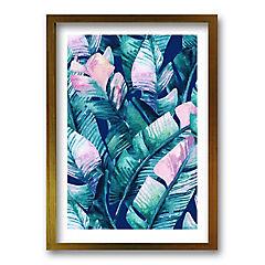 Cuadro 50x35 cm ilustración tropico