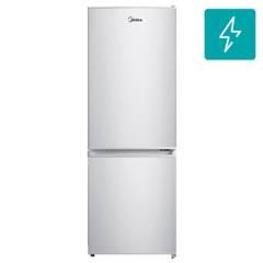 MIDEA - Refrigerador frío directo bottom freezer 167 litros gris