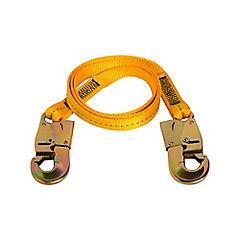 Cabo de vida 180x1,2 cm amarillo