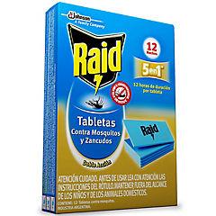 Insecticida para zancudo en tabletas 12 unidades
