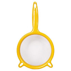 Colador de malla 18 cm Amarillo