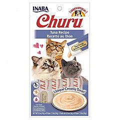 Churu snack puré gatos atún