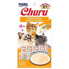 Churu snack puré gatos pollo