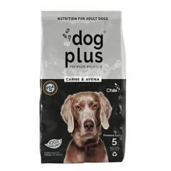 DOG PLUS - Alimento de perros 5 kg carne y avena 100% natural