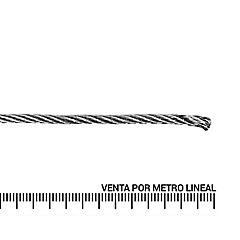 Cable de acero galvanizado 3/16''