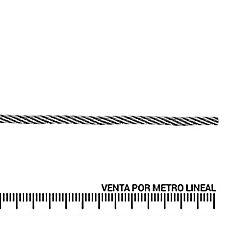 Cable de acero galvanizado 1/8''