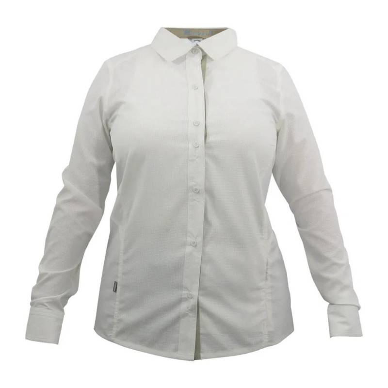 HARDWORK - Camisa mujer blanco talla XL hw oregon geo tech dry