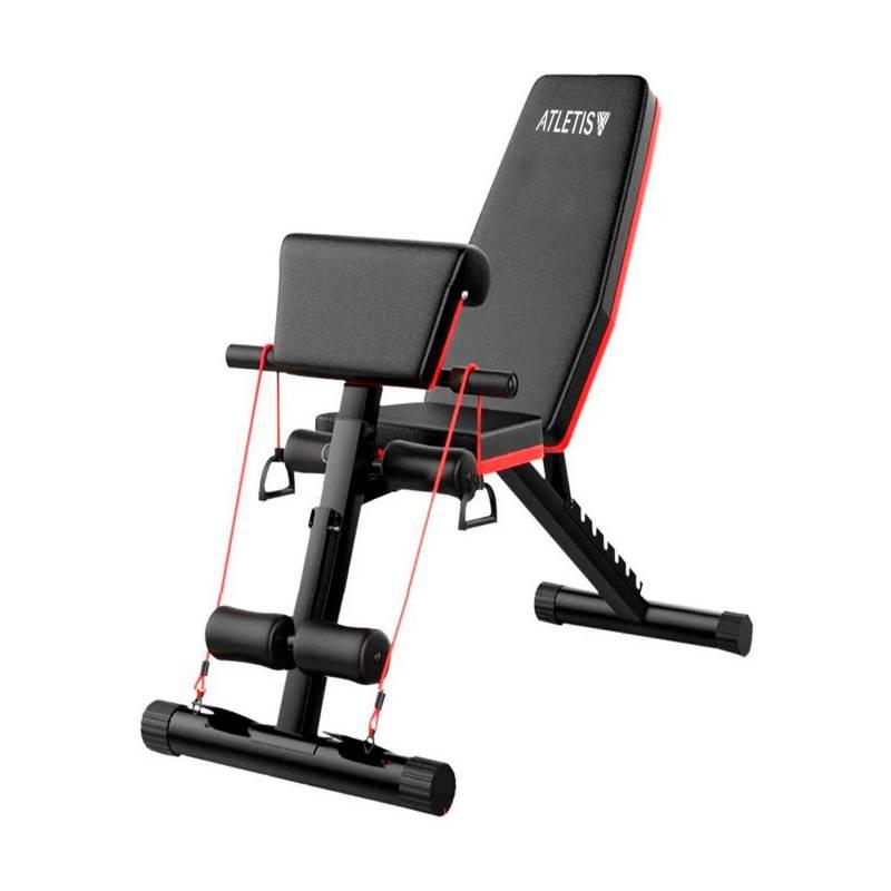- Banco multifuncional de entrenamiento home fitness
